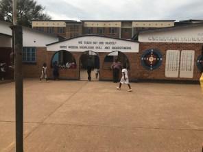 Wukani Education Facility the entrance