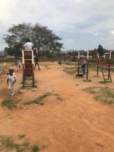 The playground at Wukani
