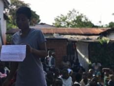Teacher's speech