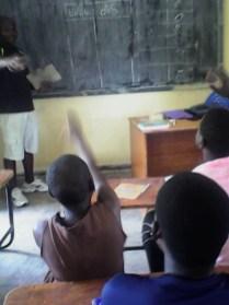 Malita in the class