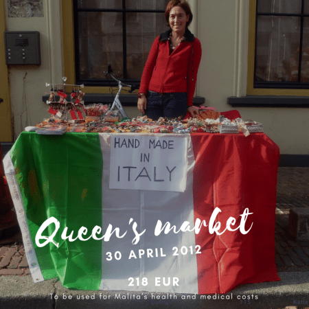 Queen's market 30 april 2012