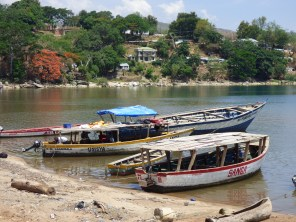 The harbour in Nkhata Bay