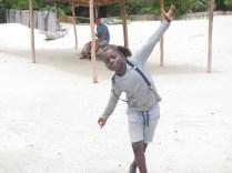 Gift at Kande beach