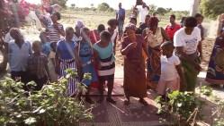 Dancing at Clement's village