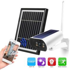 Solar-WiFi-Security-Rechargeable-Camera