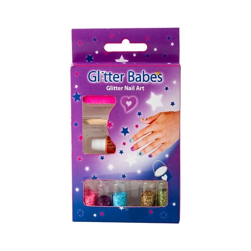 Glitter Nail Art Set