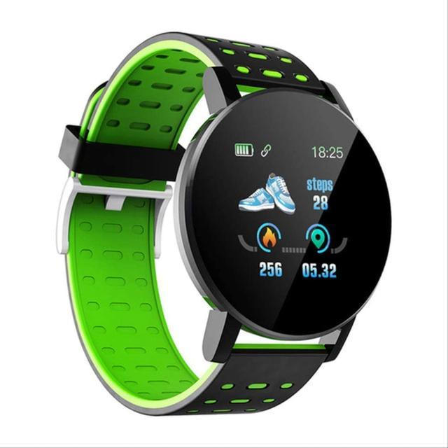 119 Plus Fitness Smart Watch -Green