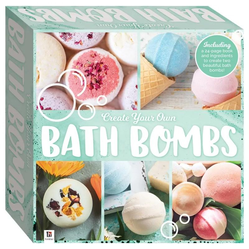 CREATE YOUR OWN BATH BOMBS