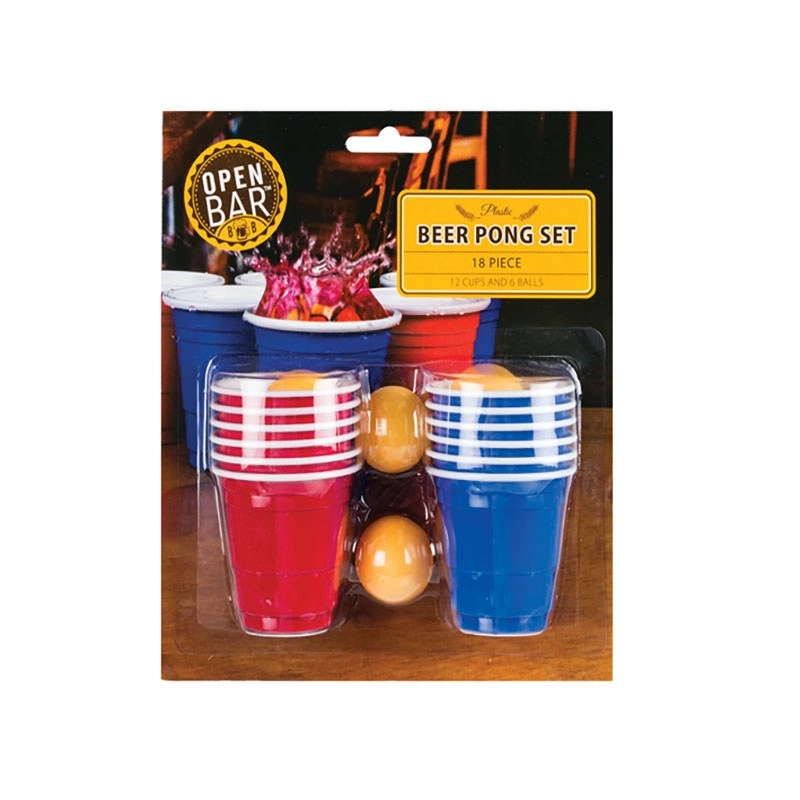 Mini Beer Pong Drinking Game
