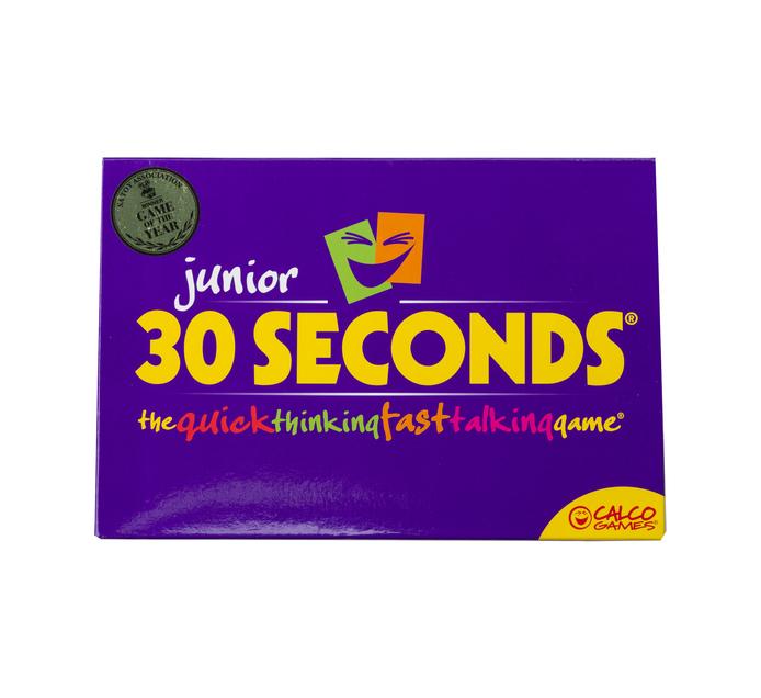 30 Seconds Junior Game English Edition