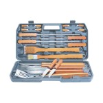 Alva Delux Piece Wood Braai Tools