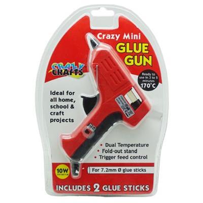 CRAZY CRAFTS MINI GLUE GUN
