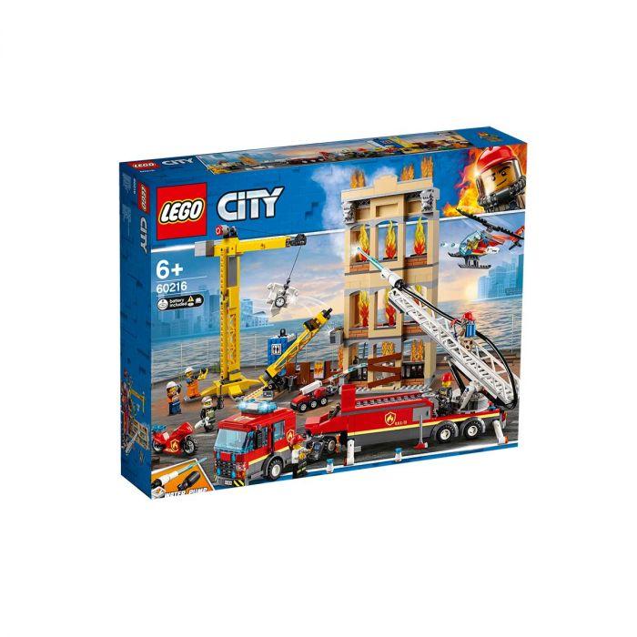 City Fire Downtown Fire Brigade (60216)