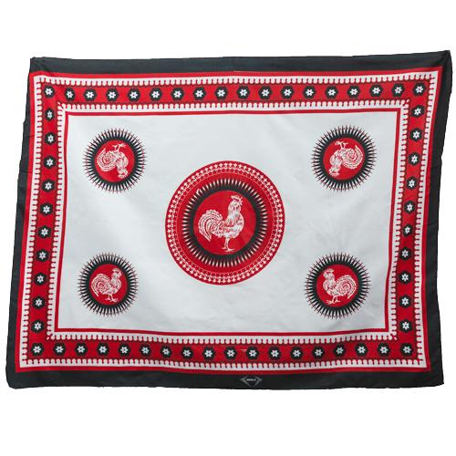 Fabric Animal Khanga Rooster