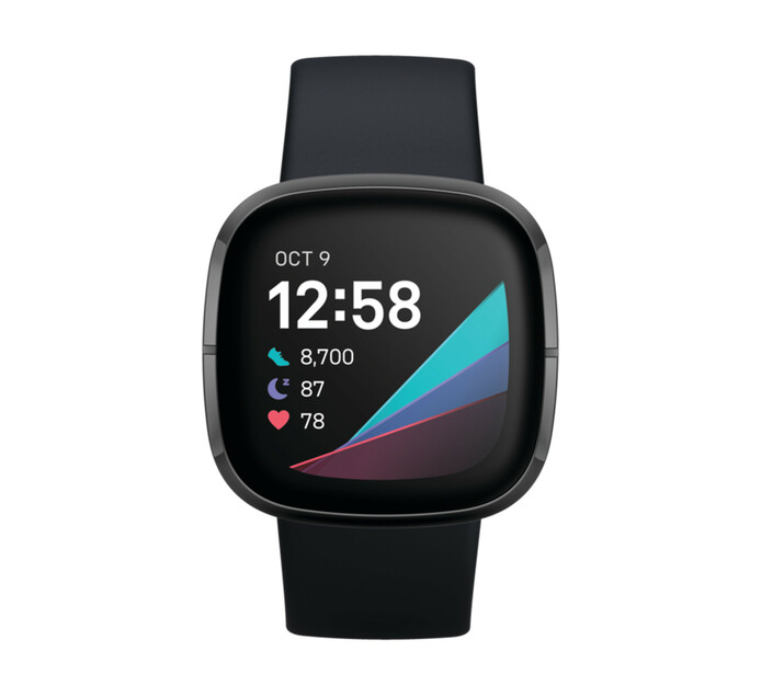Fitbit Sense Carbon/Graphite Stainless