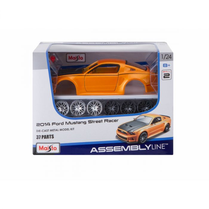 Ford Mustang GT 2014 Street Racer (Kit) Scale