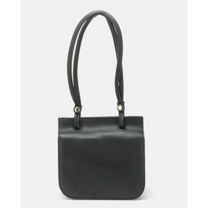Joy Collectables Accordion Crossbody Bag Black