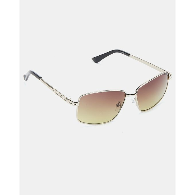 Joy Collectables Classic Aviator Sunglasses Brown/Gold