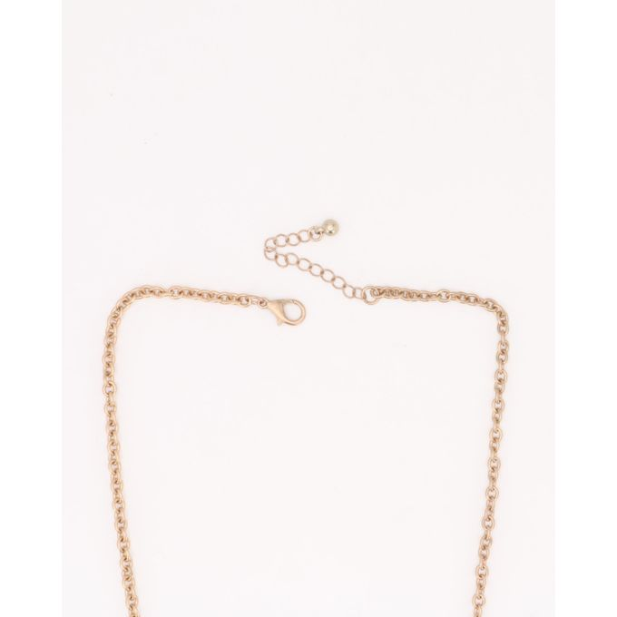 Joy Collectables Fan Tassel Necklace Blue