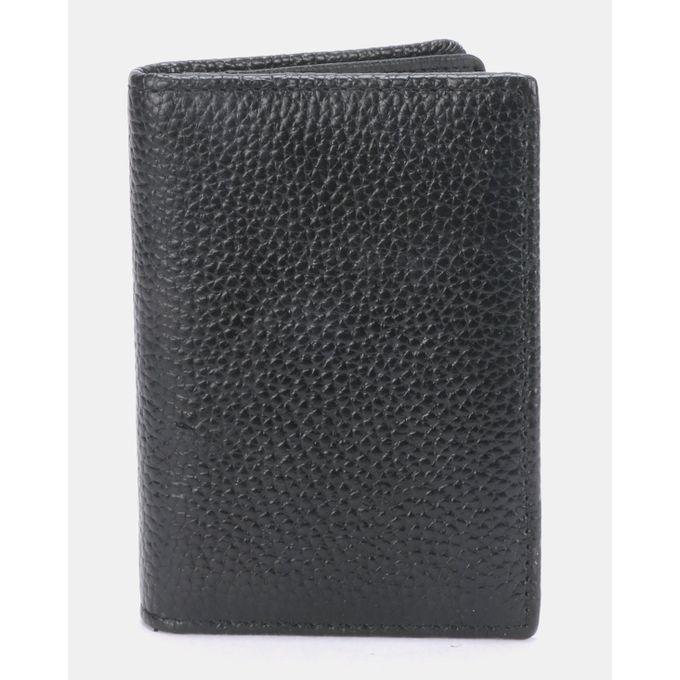 Joy Collectables Simple Faux Leather Wallet Black