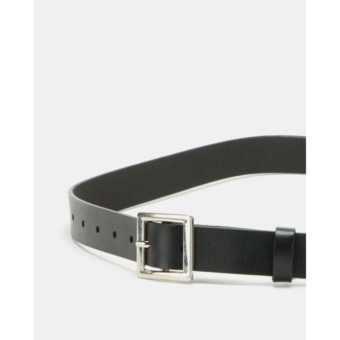 Joy Collectables Skinny Belt Black