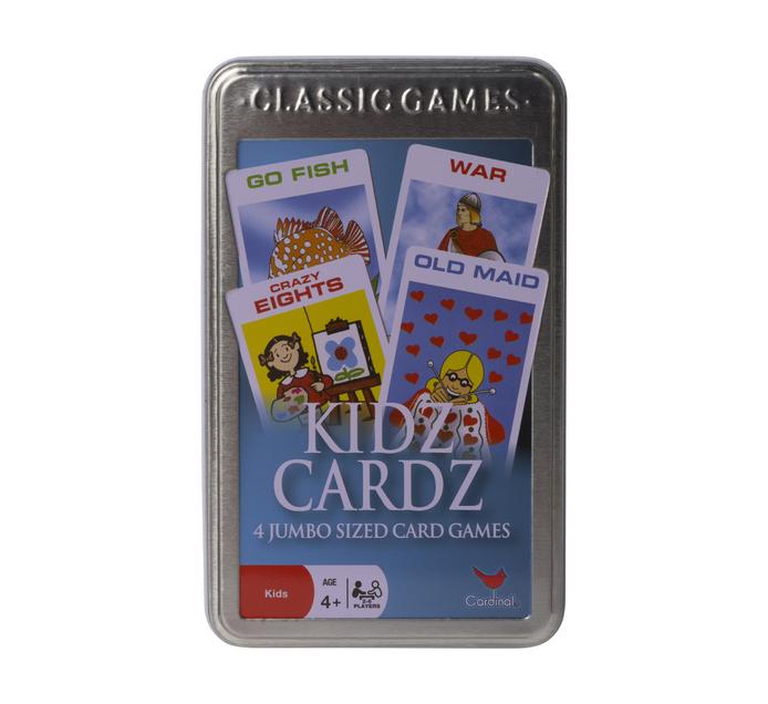 Kidz Cards in Tin