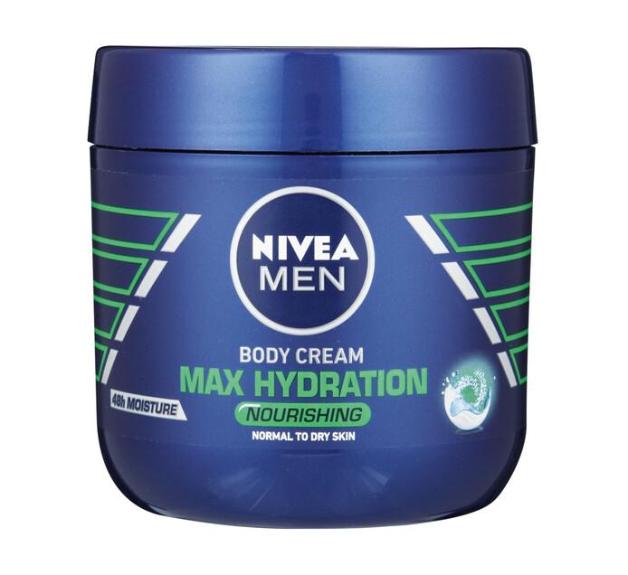 Nivea Body Cream Men Maximum Hydration (1 x 400m