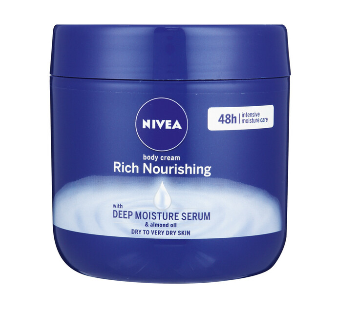 Nivea Body Cream Rich Nourishing (1 x 400ml)