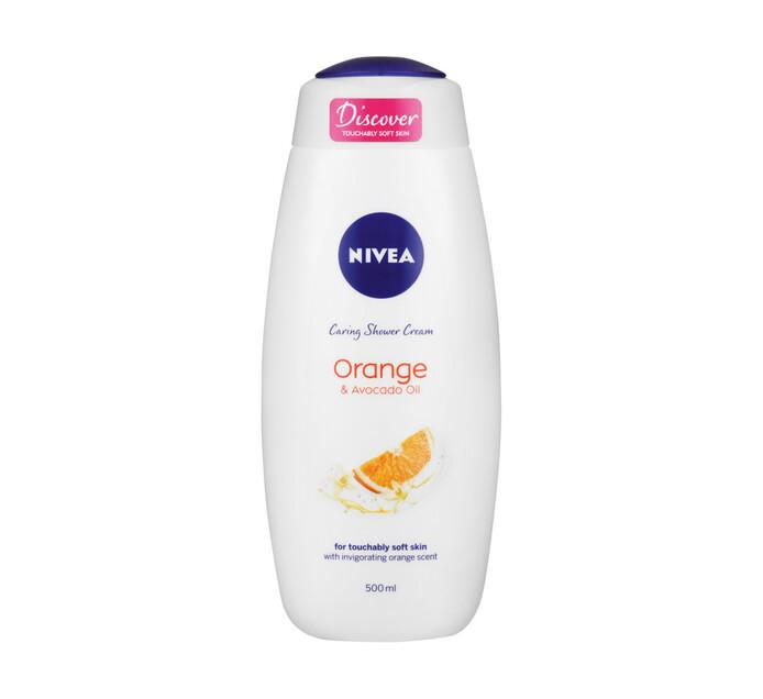 Nivea Shower Gel Orange & Avocado Oil (1 x 500ml)