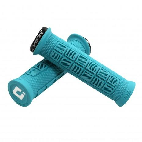 ODI Elite Pro Grips - Turquoise