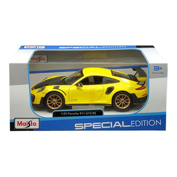 Porsche 911 GT2 RS 1:24 Scale Model Car