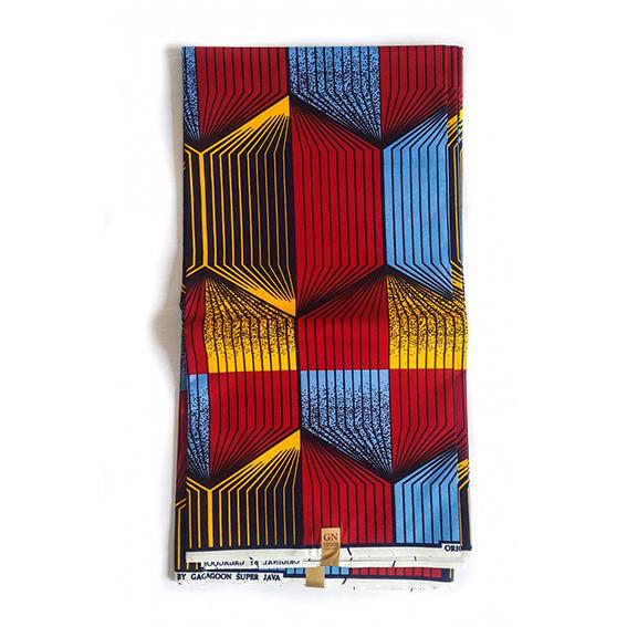 Quwa Polyester African Print Fabric Ankara Textiles