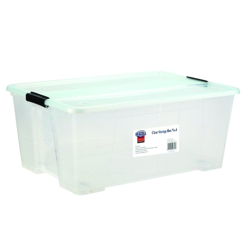Seagull Clear Storage Box NO.4