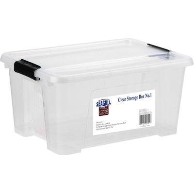 Seagull Clear Storage Box (14lt)