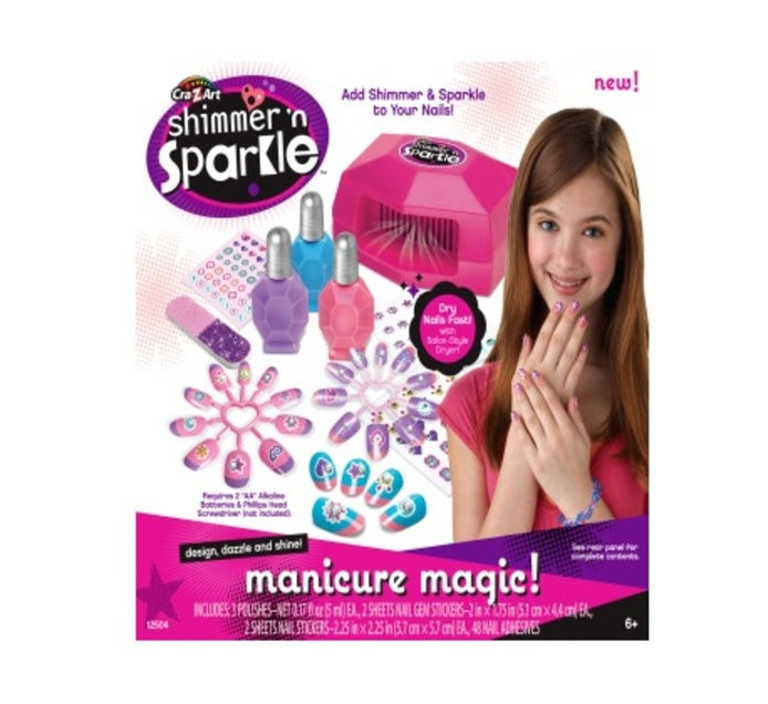 Shimmer 'n Sparkle Manicure Magic