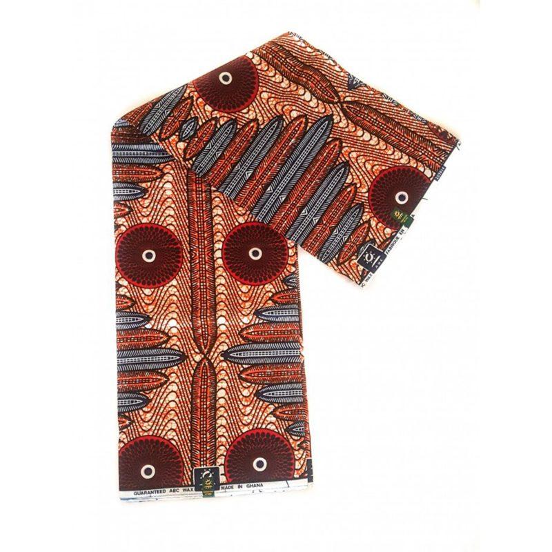 Spurge African Print Fabric