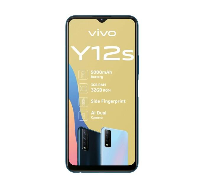 Vivo 32 GB Y12S Black