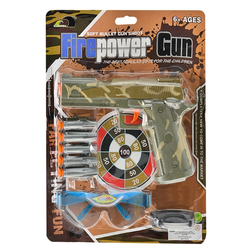 Hand Gun Play Set, 8-Piece