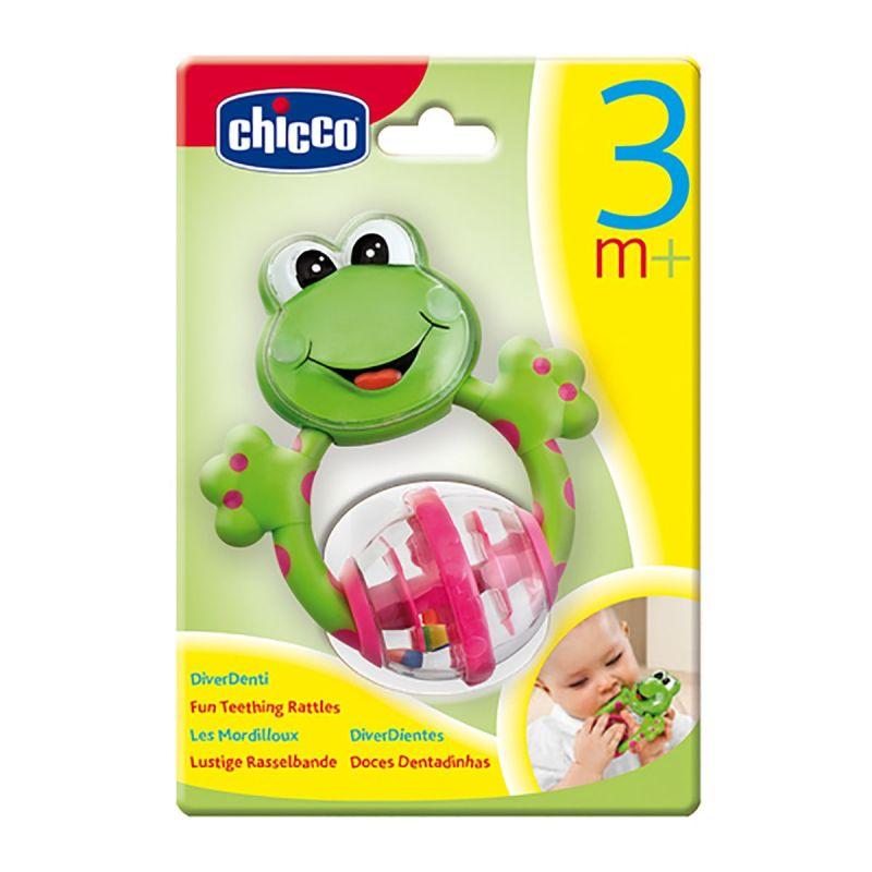 Chicco Baby Senses Rattle Frog