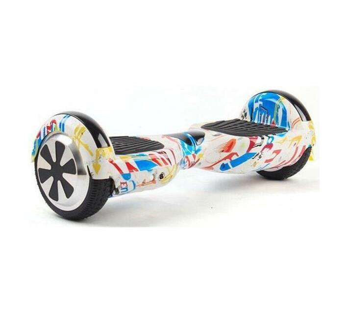 6.5 Bluetooth i-Glide Hoverboard - White Graffiti