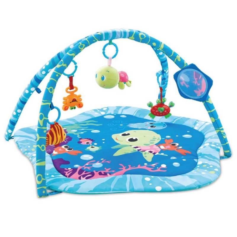 Cicilove Playmat Roll and Joy Activity Gym Ocean