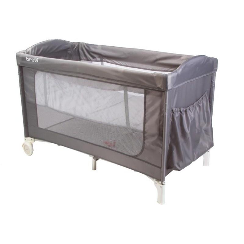 Brevi Camp Cot Standard Size Grey
