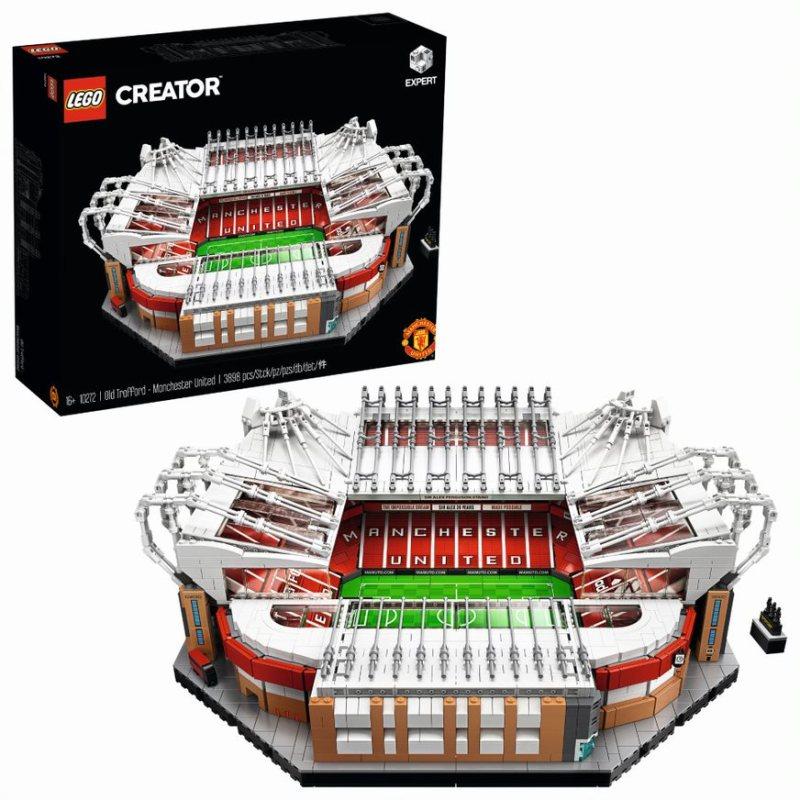 Lego® Set Model Of Old Trafford