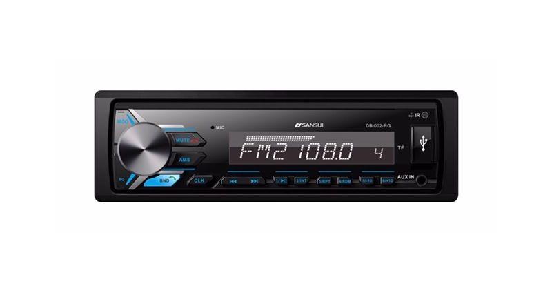 Sansui Deckless Car Radio with Bluetooth
