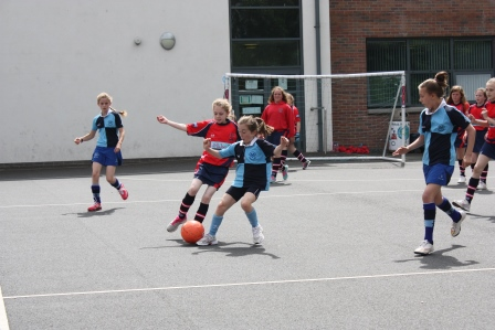 Girls Football Match17