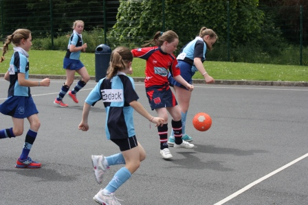 Girls Football Match21