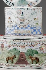 """Oh Britannia"" 2006 Sculptural Teapot. 27"" x 29"" x 15"" Private Collection."