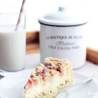 Oh du tolle Rhabarber-Zeit! ♥ Rhabarber-Käsekuchen mit Streuseln