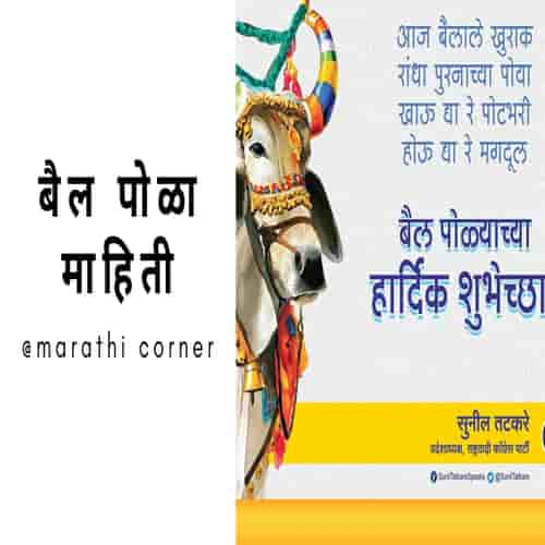 Bail Pola information in Marathi