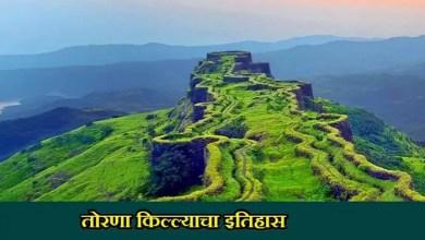 Photo of तोरणा किल्ल्याचा इतिहास Torna Fort History In Marathi